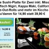 Sushi Deal Berlin: Kiccho Sushi Berlin große Sushi Platte für 2 am Kudamm – UPDATE